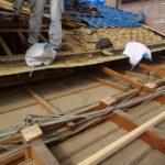 屋根を新設しました